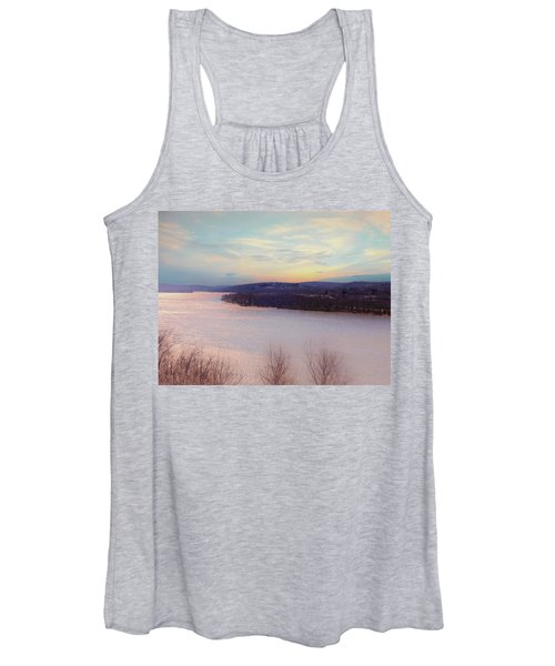 Connecticut River View From Gillette Castle. Women's Tank Top