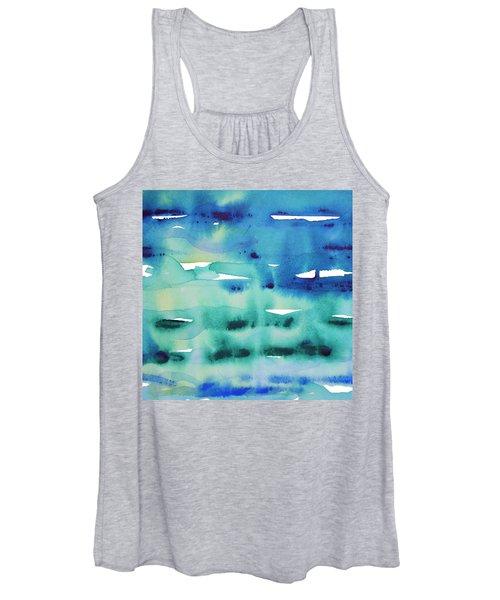 Cool Watercolor Women's Tank Top