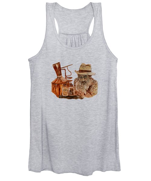 Coppershine Popcorn-transparent For T-shirts Women's Tank Top