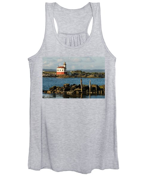 Coquille River Lighthouse Bandon Oregon Women's Tank Top