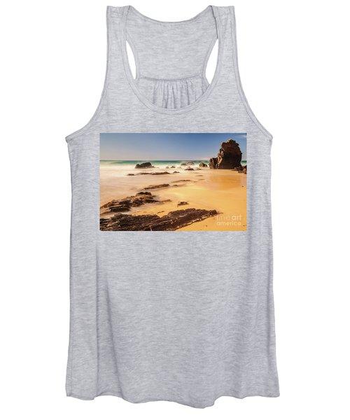 Corunna Point Beach Women's Tank Top