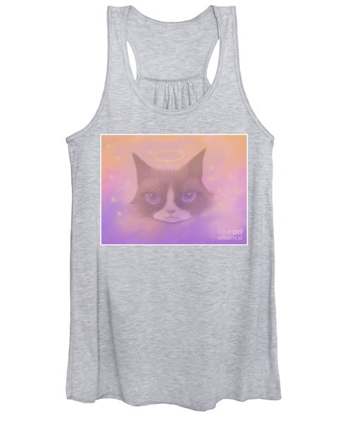 Cosmic Cat Women's Tank Top