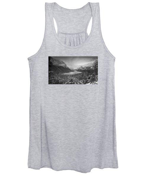 Cotton Candy Blankets Yosemite Women's Tank Top