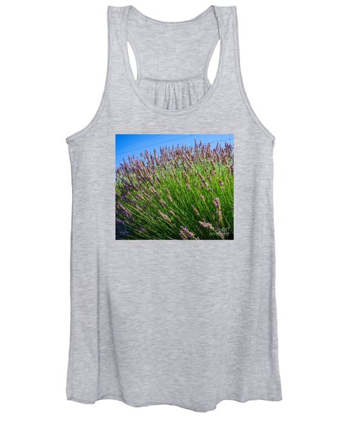 Country Lavender I  Women's Tank Top