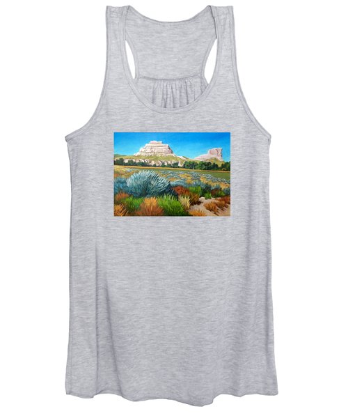 Courthouse And Jail Rocks 2 Women's Tank Top