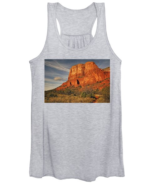 Courthouse Butte Txt Women's Tank Top