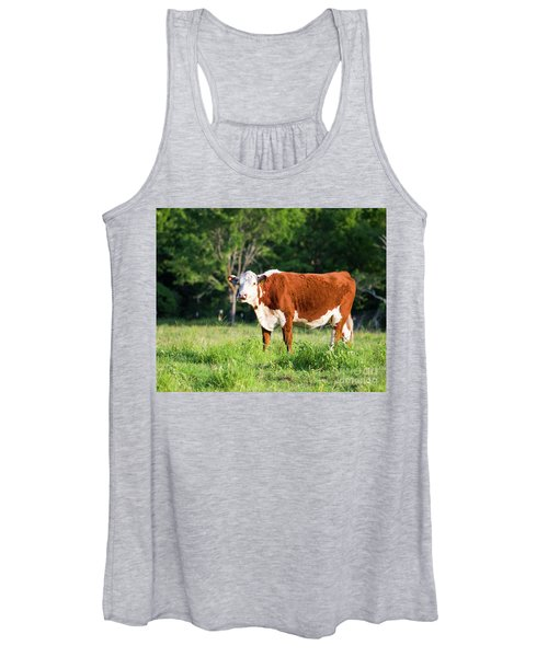 Cow #1 Women's Tank Top