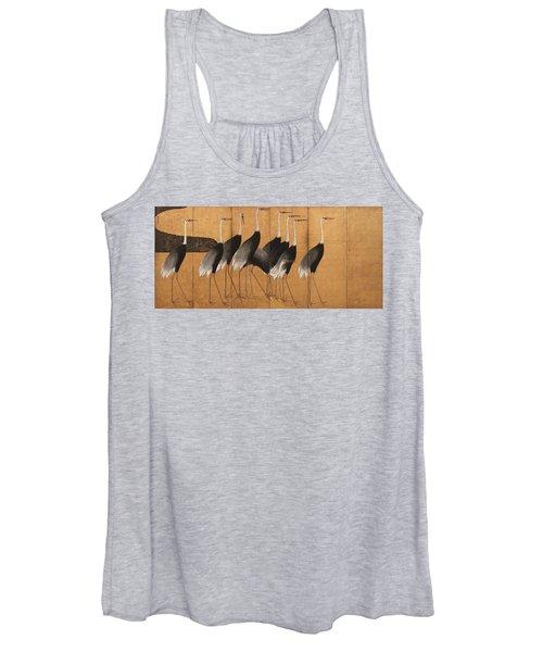 Cranes Women's Tank Top