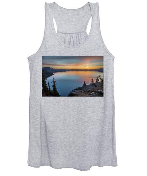 Crater Lake Morning No. 1 Women's Tank Top