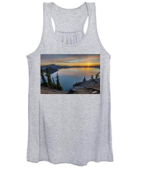 Crater Lake Morning No. 2 Women's Tank Top
