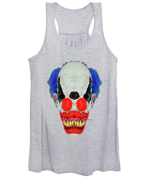 Creepy Clown Women's Tank Top