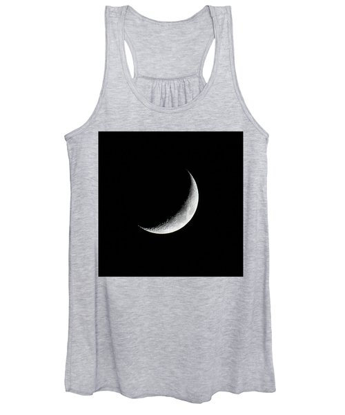Crescent Moon Women's Tank Top