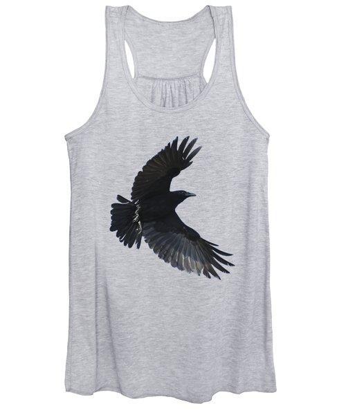 Crow In Flight Women's Tank Top