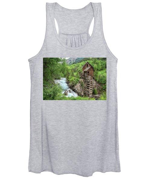 Crystal Mill Colorado 3 Women's Tank Top