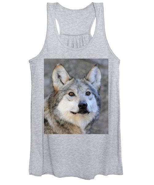 Curious Wolf Women's Tank Top