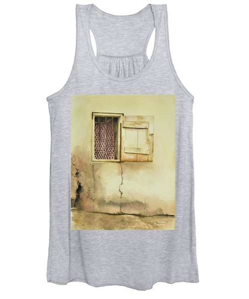 Curtain In Window Women's Tank Top