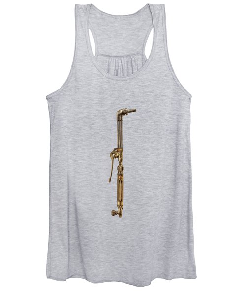 Cutting Torch Right Face Women's Tank Top
