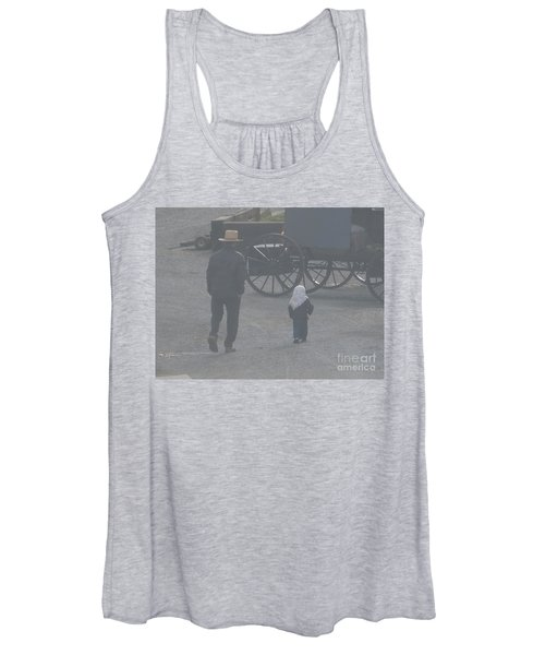 Dad And Daughter Women's Tank Top