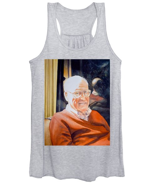 Dad's Red Sweater Women's Tank Top