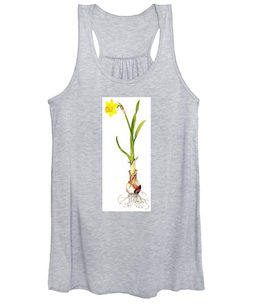 Daffodil And Bulb Women's Tank Top