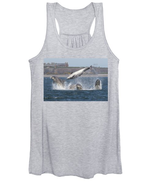 Dance Of The Dolphins Women's Tank Top