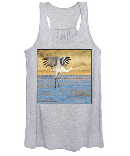 Dancing Crane Women's Tank Top