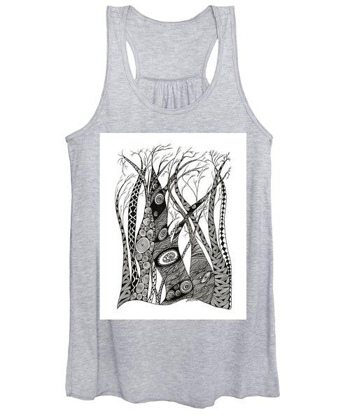 Dancing Trees Women's Tank Top