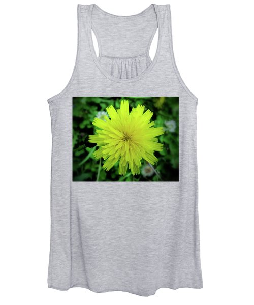 Dandelion Symmetry Women's Tank Top
