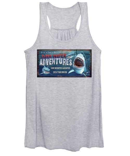 Dark Water Adventure Women's Tank Top