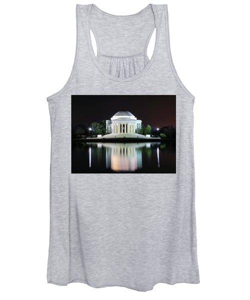 Darkness Over The Jefferson Memorial Women's Tank Top