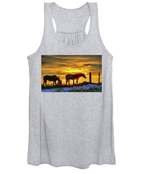 Dawn Horses Women's Tank Top