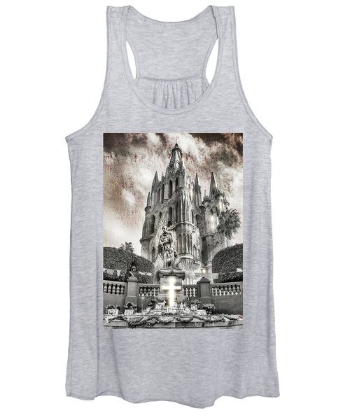Day Of The Dead Alter Women's Tank Top