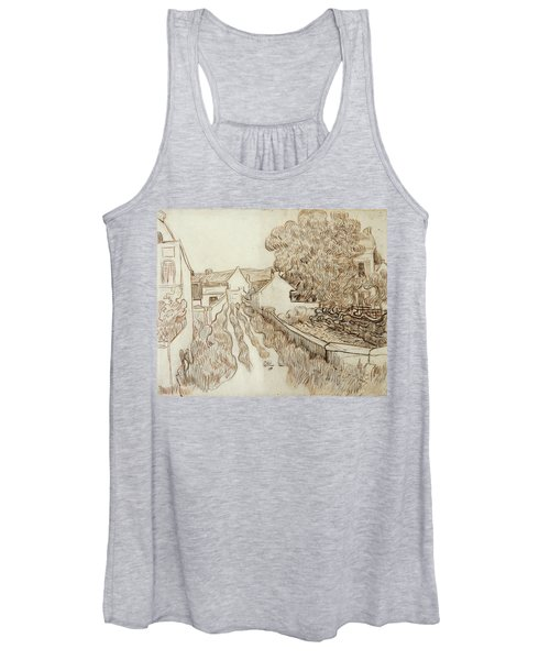 Dead-end Street With Houses, 1890 Women's Tank Top