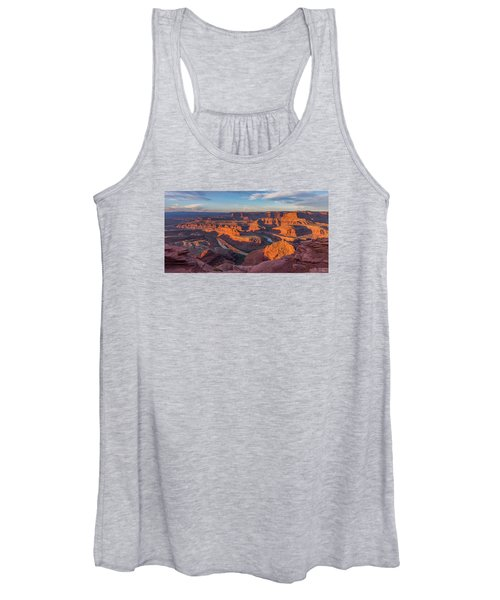 Dead Horse Point Sunrise Panorama Women's Tank Top