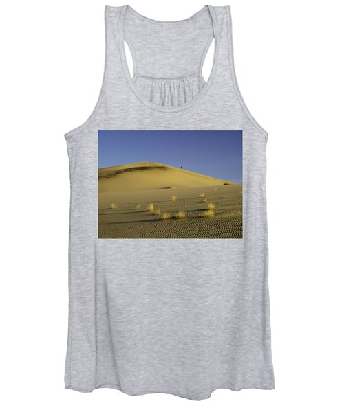 Death Valley Sand Dune At Sunset Women's Tank Top