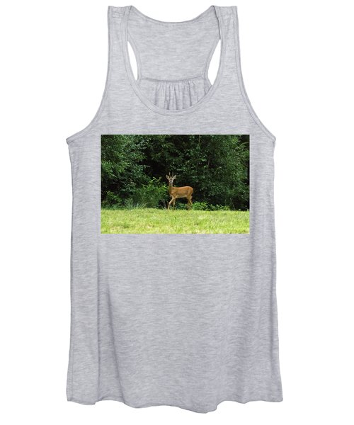 Deer In The Woods Women's Tank Top