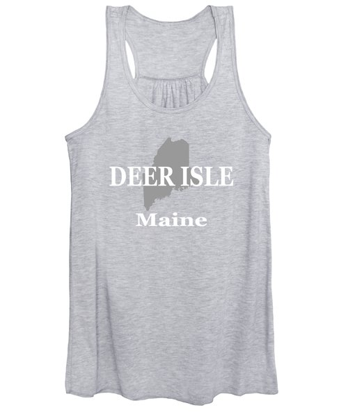 Deer Isle Maine State City And Town Pride  Women's Tank Top