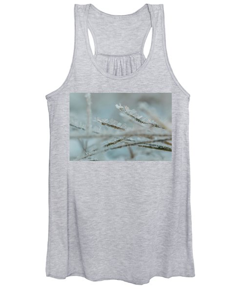 Delicate Morning Frost  Women's Tank Top