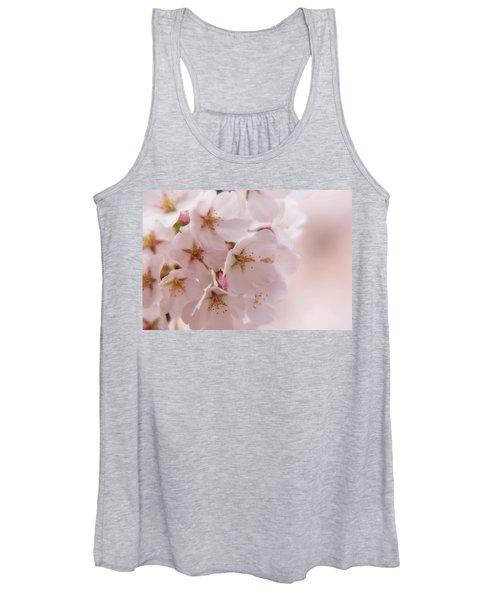 Delicate Spring Blooms Women's Tank Top