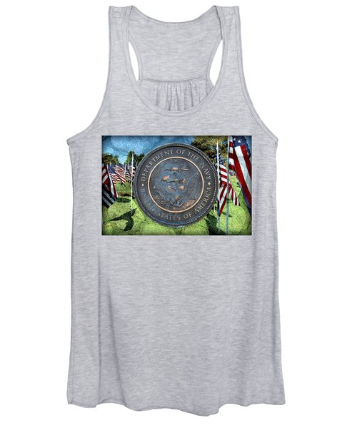 Department Of The Navy - United States Women's Tank Top