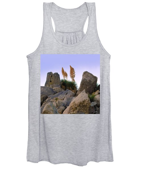 Desert Flags - Cropped Version Women's Tank Top