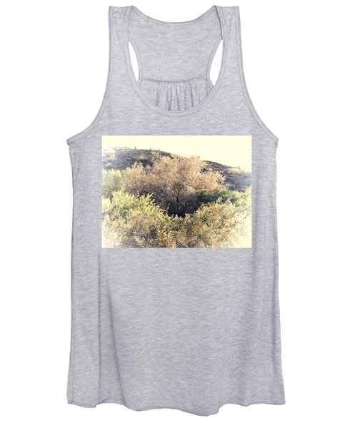 Desert Ironwood Afternoon Women's Tank Top