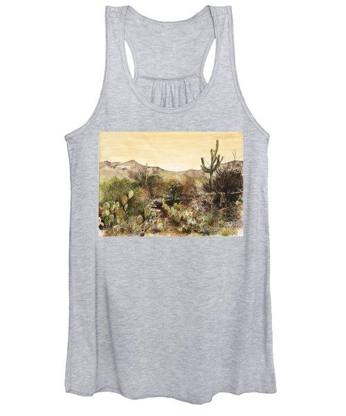 Desert Walk Women's Tank Top