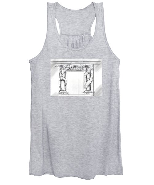 Design For Trompe L'oeil Women's Tank Top