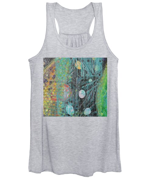 Detail From Creation Of Adam And Eve Women's Tank Top