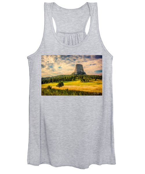 Devil's Tower - The Other Side Women's Tank Top