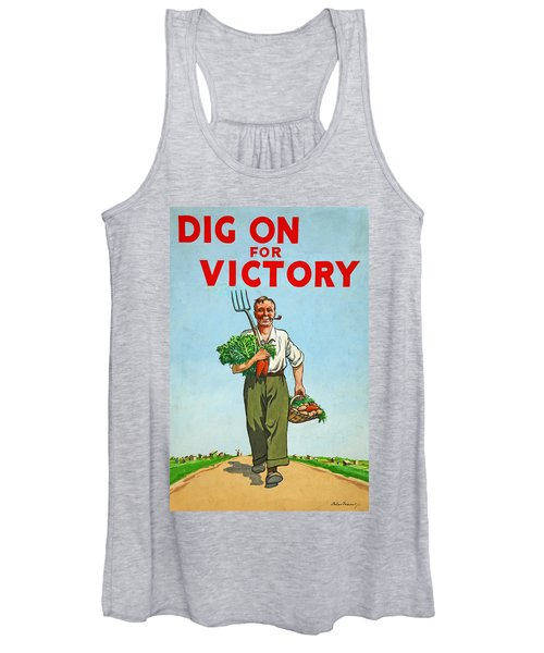 Dig On For Victory Women's Tank Top