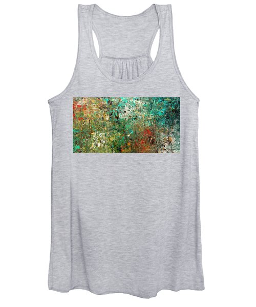 Discovery - Abstract Art Women's Tank Top
