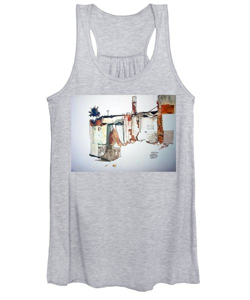 District 6 No 3 Women's Tank Top