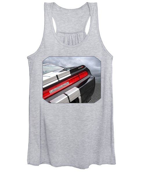Dodge Challenger Srt Rear Detail Women's Tank Top